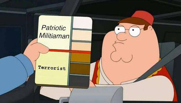 militia or terrorist